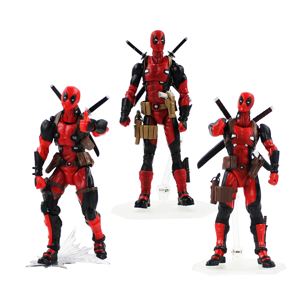 3styles 14-18cm Deadpool Figure Toys Super Hero Dead Pool X-Man PVC Action Figure Model Toys Boxed For Gifts 26cm crazy toys deadpool figure x men play arts dead pool deadpool pvc action figures resin collection model toy gifts l1078 page 2