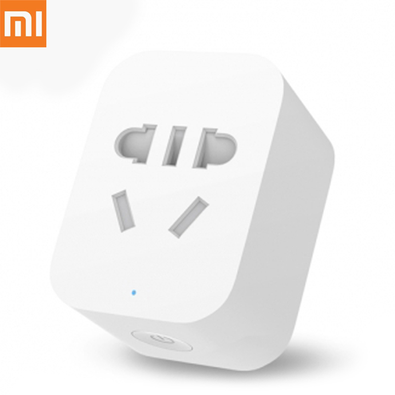 Originale Xiaomi Mi Presa di Smart WiFi APP Remote Timer di Controllo Power Plug Power di Rilevamento-ZigBee Versione Supporto All'ingrosso