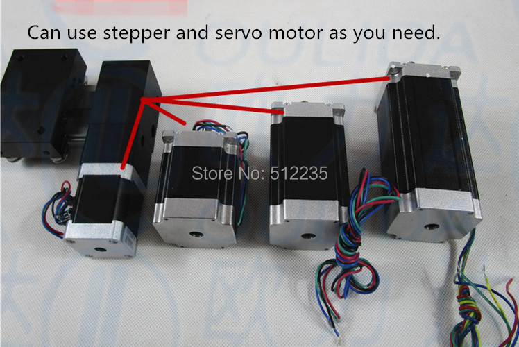 цена на XP timing belt slide module Sliding Table effective stroke 700mm+1pc nema 17 stepper motor XYZ axis Linear motion