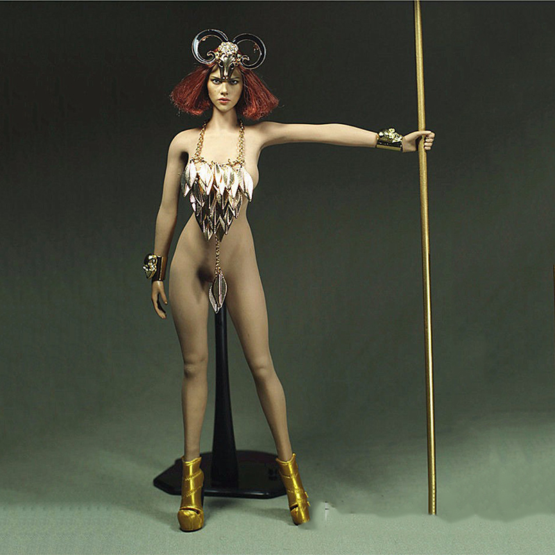 1/6 Sexy Female Clothing GOLDEN Forest Messenger Set Model Toys For 12 Action Figure Body Accessory 1 6 purple female sexy leather skirt dress suit clothing model toys for 12 female action figures body accessory