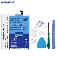 2019 NOHON Original BN31 Battery For Xiaomi Mi 5X Mi5X Redmi Note 5A 5A Pro 3000mAh Mobile Phone Batterie Free Tools In Stock