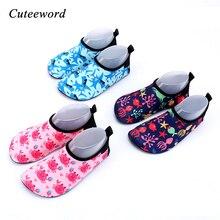 Children swimming shoes summer girls outdoor beach non-slip breathable sport for kids boys house floor soft socks