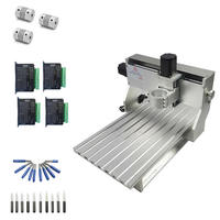 Factory supply china cnc engraving machine 3020 frame aluminum table ball screw with limit switch