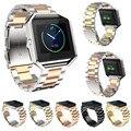 Correa de Las Mujeres de Los Hombres Reloj de Pulsera Banda De Acero Stailess Para Blaze Blaze Oro Rosa Band Para Fitbit Fitbit Reloj Accesorios