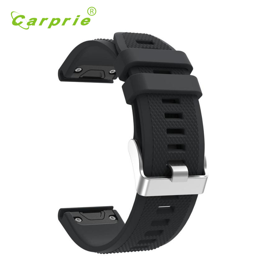 Carprie New Replacement Silicagel Quick Install Soft Band Strap For Garmin Fenix 5 GPS 17Jun22 Dropshipping