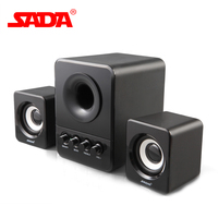 Original D 203 Combination Speaker Is Suitable For Desktop Computer Mobile Phone Notebook USB2 1 Bass