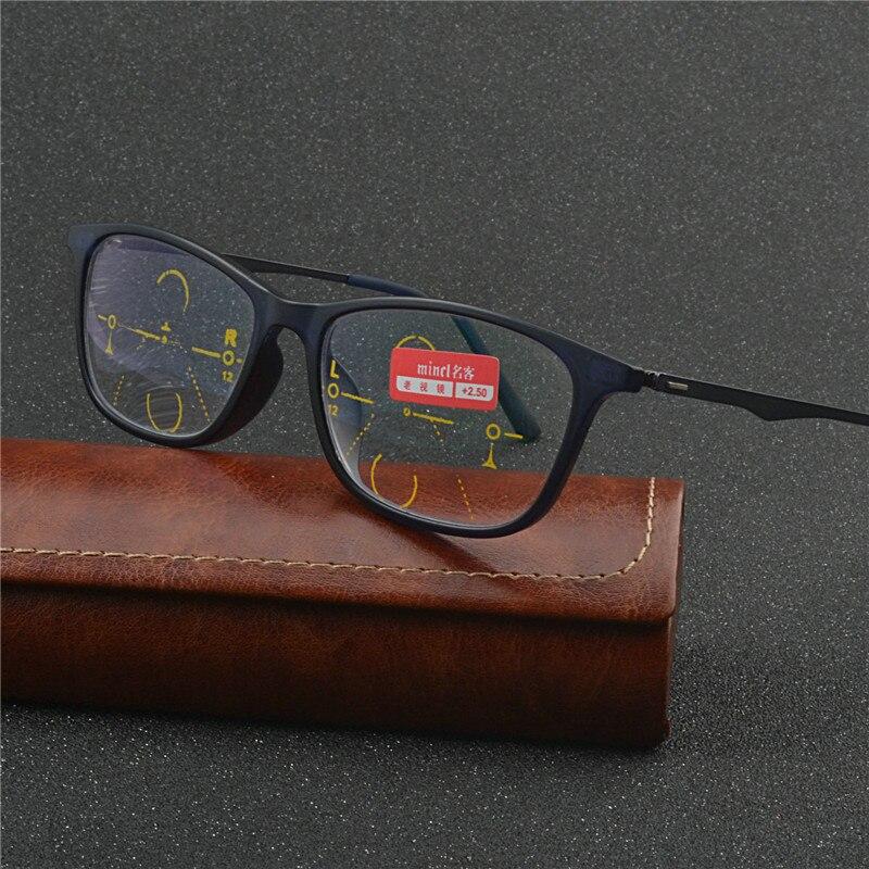f9e92b5436764 2018 Novo E Elegante Computador Progressive Multi-focais Hipermetropia Presbiopia  Óculos Com caixa de Óculos