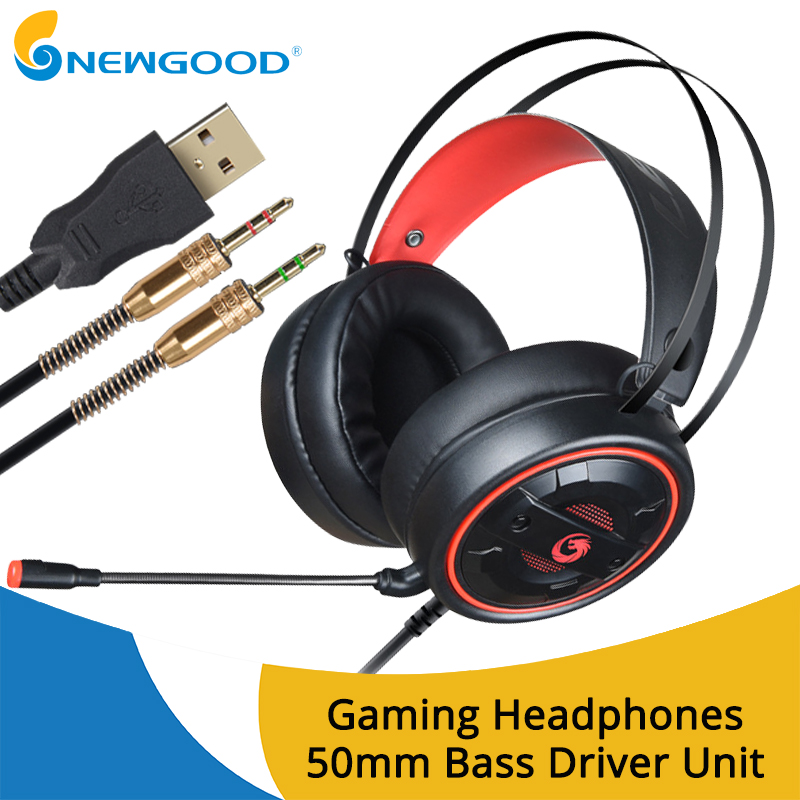 Gaming Headset Luminous Headphones Gamer Headphone for computer pc with microphone Headphone with microphone 3.5mm USB xiberia v10 usb vibration gaming headphones led computer stereo gaming headset headphone with microphone mic for pc gamer