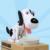 Miễn phí Vận Chuyển 1 Mảnh Cutest Choken Bako Robot Dog Ngân Hàng Doggy Coin Bank Chó Money Box Cho Dog Lover