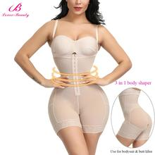 Calcinha modeladora de corpo inteiro, calcinha modeladora para controle de barriga e bumbum