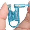 Estéril De Seguridad caliente Del Cuerpo de La Nariz del labio Del Oído Piercing Pistola Tool Kit Stud Prep Pad