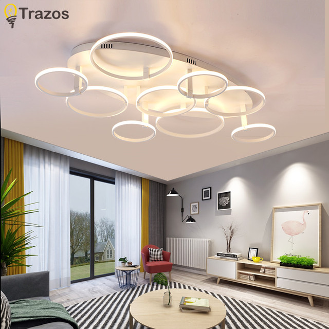Model Surface Mounted Modern Led Ceiling Lights For Living Room Light Fixture Indoor Lighting Home Decorative