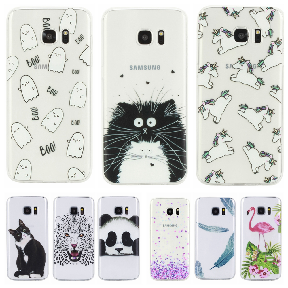 cover samsung galaxy s6 edge gatto