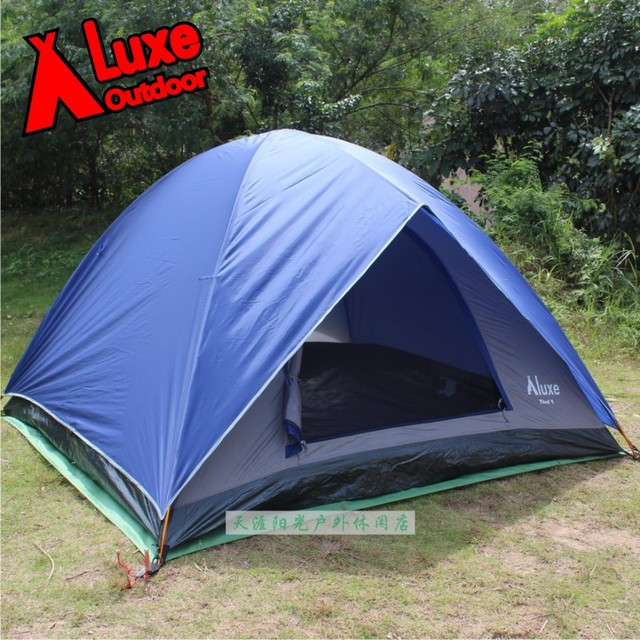 luxe camping tent