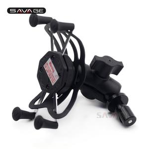 Держатель для телефона для HONDA VFR 800F/1200F VFR1200F/DCT CBR400R CBR500R CBR600RR CBR600F4I CBR мотоцикл GPS навигационный кронштейн