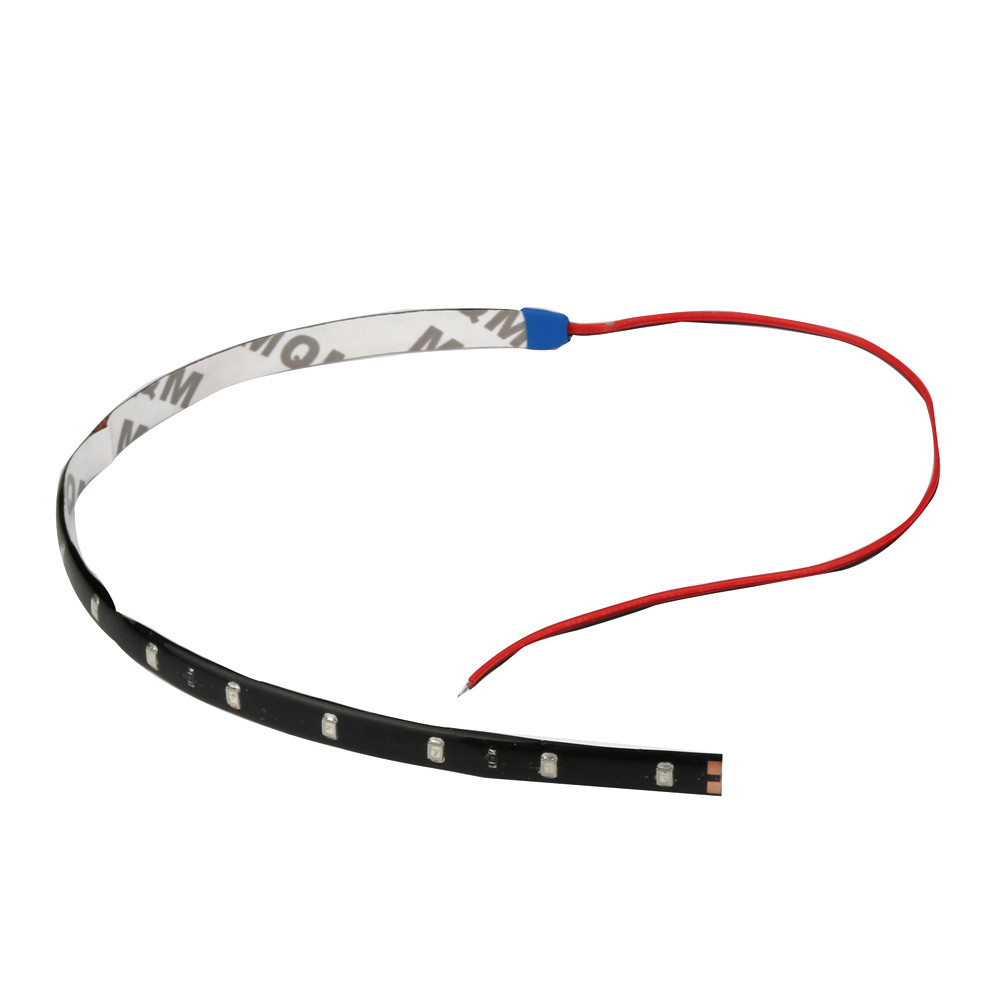 AUTO 4pcs 30CM/15 LED Car Motors Truck Flexible Strip Light Waterproof Light vehicle ERROR FREE Side Light car styling18Jun 30