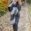 Women Thick Warm Wool Pashmina Cashmere Stole Winter Scarves Scarf Shawl Wraps