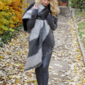 1pcs fashion Women Thick Warm Wool Pashmina Cashmere Stole Winter <font><b>Scarves</b></font> <font><b>Scarf</b></font> Shawl <font><b>Wraps</b></font>