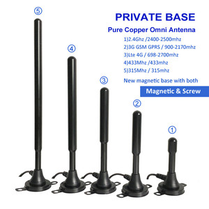 Image 2 - 35dbi Antenna Omnidirectional Copper Magnetic Antenna with GSM / 3G 2.4G Wifi 315Mhz LTE 4G Default 3M Cable SMA Male 1PCS