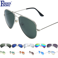 FOENIXSONG Brand New Fashion Aviator Sunglasses for Women Classic Designer UV400 Eyewear Accessories Men Sun Glasses Oculos