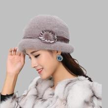 Ozyc шерсть Для женщин котелок зимняя шапка Fedora ковша Клош круглый Кепки 1920 S Винтаж верблюд цветок модные элегантные девушки теплые шляпа