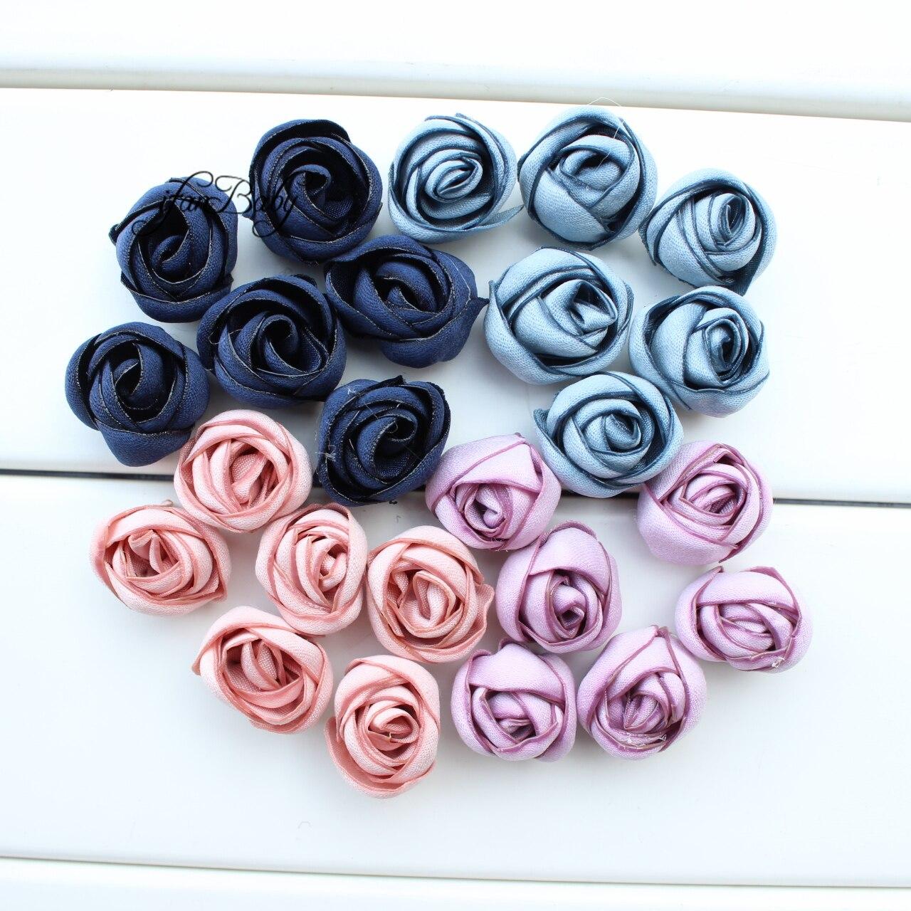 Women Girl Hair Accessories Rose Burn Flower Rose Flower For Hair