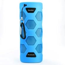 10W Outdoor Waterproof Bluetooth Speaker Portable Wireless Stereo Bike Sound Box 4000mAh Bicycle Loudspeakers Caixa De Som blue