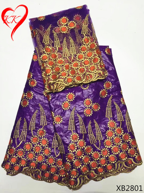 tissu africain fin