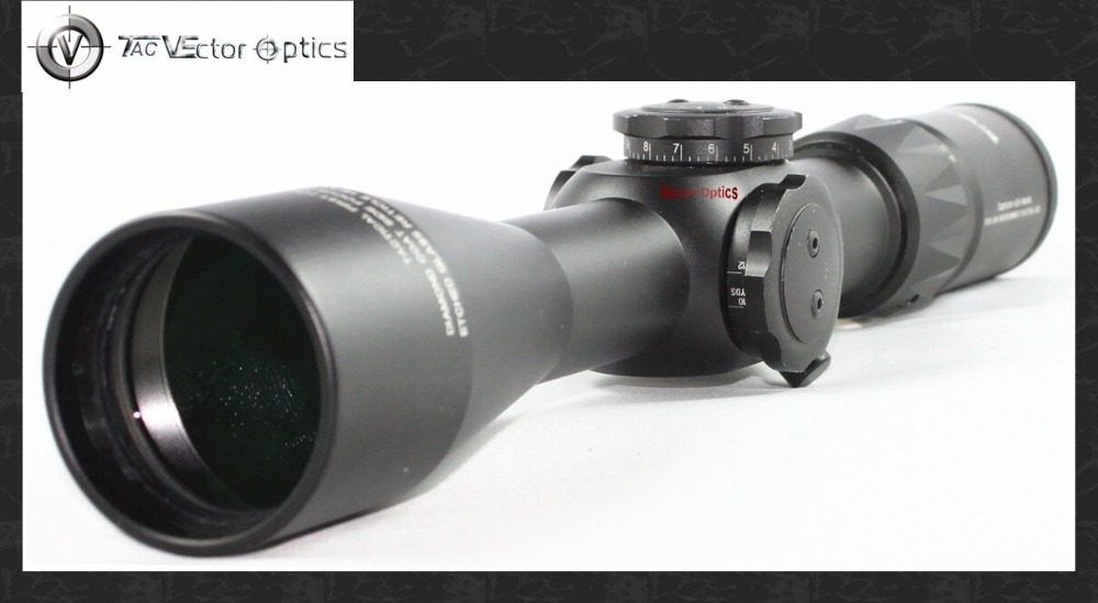 Vector Optics Tactical 4.5-14x44 FFP Sniper Shooting Gun Riflescope Long Eye Relief Side Focus Scope vector optics siegfried 3 12x50 ffp tactical 34mm huting riflescope 1 click 1cm adjust fit night vision free shipping scope