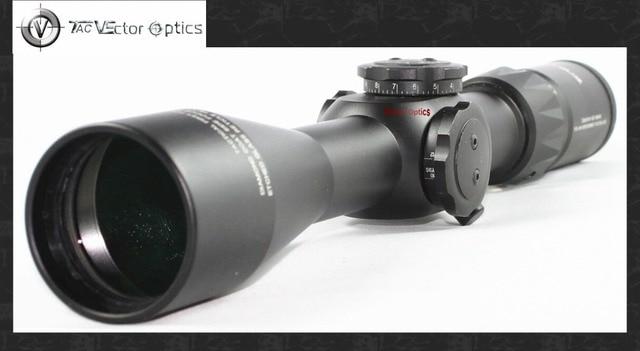 Vector optik taktis 4.5 14x44 ffp pistol menembak sniper riflescope