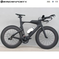 Time Trail Bike TT Carbon bike carbon Road Complete Bike 22 Speed with R7000/R8000 Groupset Full Carbon TT Complete Bike