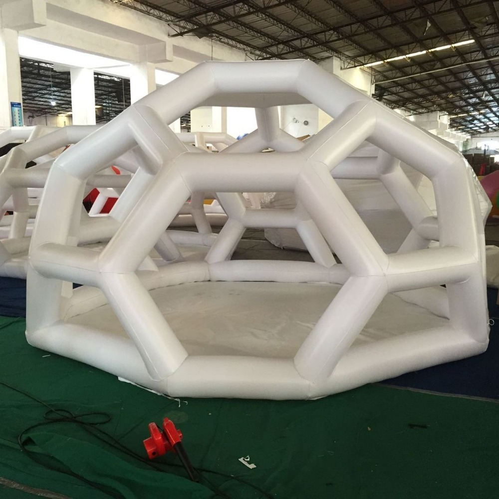 inflatable show house Famaily Backyard tent,pvc inflatable Polygon leisure meeting advertising tent,inflatable football tent hot sale factory price inflatable octopus tent inflatable advertising promotion tent