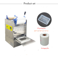 מזון מהיר מגש אריזה מכונה|מדפסות|   -
