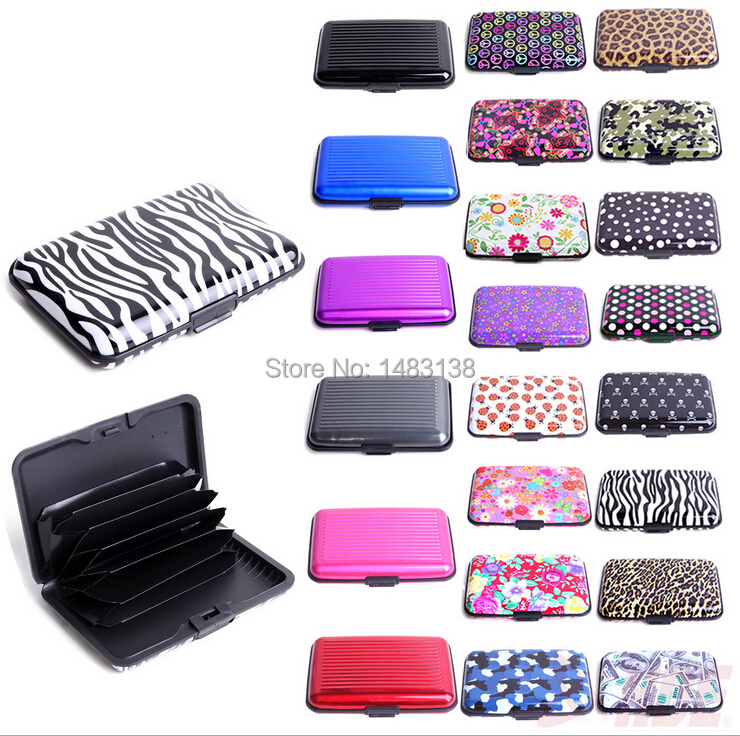ef416b925856 US $399.0 |100pcs/lot Aluminum RFID Blocking Credit Card Holder Wallet Best  protection for your Bank Debit ID ATM, Cards against Scanning-in Jewelry ...