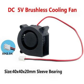100pcs Gdstime 5V 4cm 40mm x 20mm Blower Fan  DC 0.2A 2PIN 40x40x20mm Cooling Cooler 5V