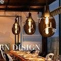 Chicken glass chandelier creative personality minimalist modern cafe bar balcony chandelier