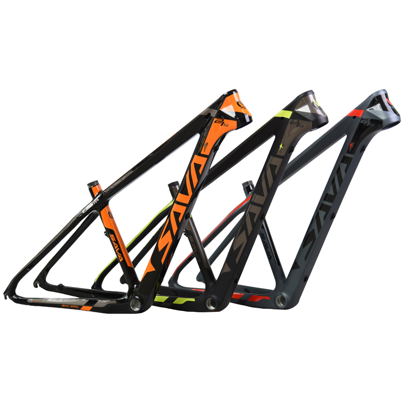 SAVA 29 Carbon bicycle frame 29er Carbon mtb Frame 650B Glossy Carbon Mountain Bike Frame 27