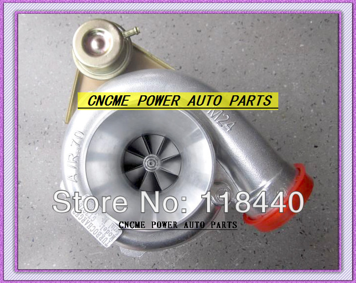 Retail GT3076 GT30 turbo T25 C: A/R .70 T: A/R .86 wastegate water and oil cooled turbocharger turbo 350-480HP Wholesale