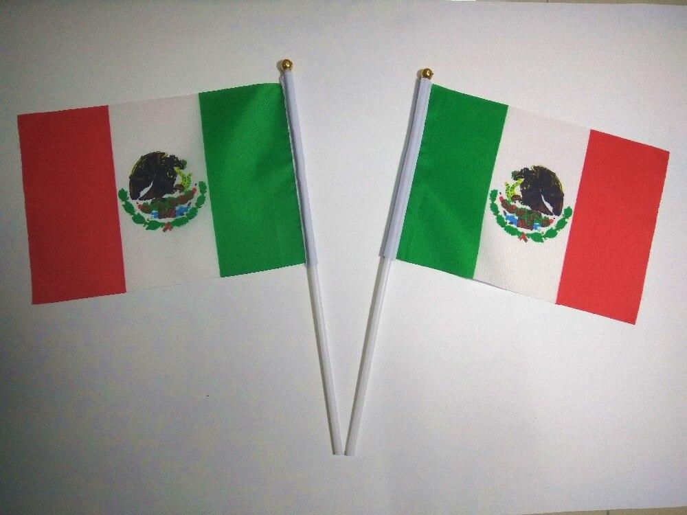 っVenta al por mayor banderas de onda de mano mexicanos Pequeño ...