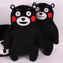 50cm Anime Kumamoto Famous Mascot KUMAMON Bear Plush Doll Cartoon Kumamon Pillow Toy For Children Gift Kawaii