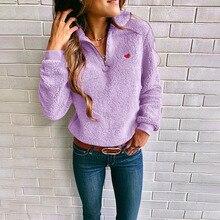 cartoon star pullover woman fleece hoodies winter autumn long sleeve fashion turtleneck female sweatshirt