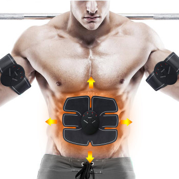 Wireless Muscle Stimulator EMS Stimulation Body Slimming Beauty Machine Abdominal Muscle Exerciser Body Massager Belt Unisex
