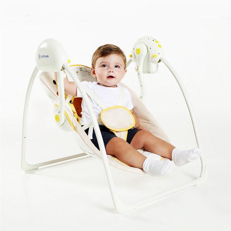 Berceau Musical électrique Mige Janty bébé avec plus de batterie