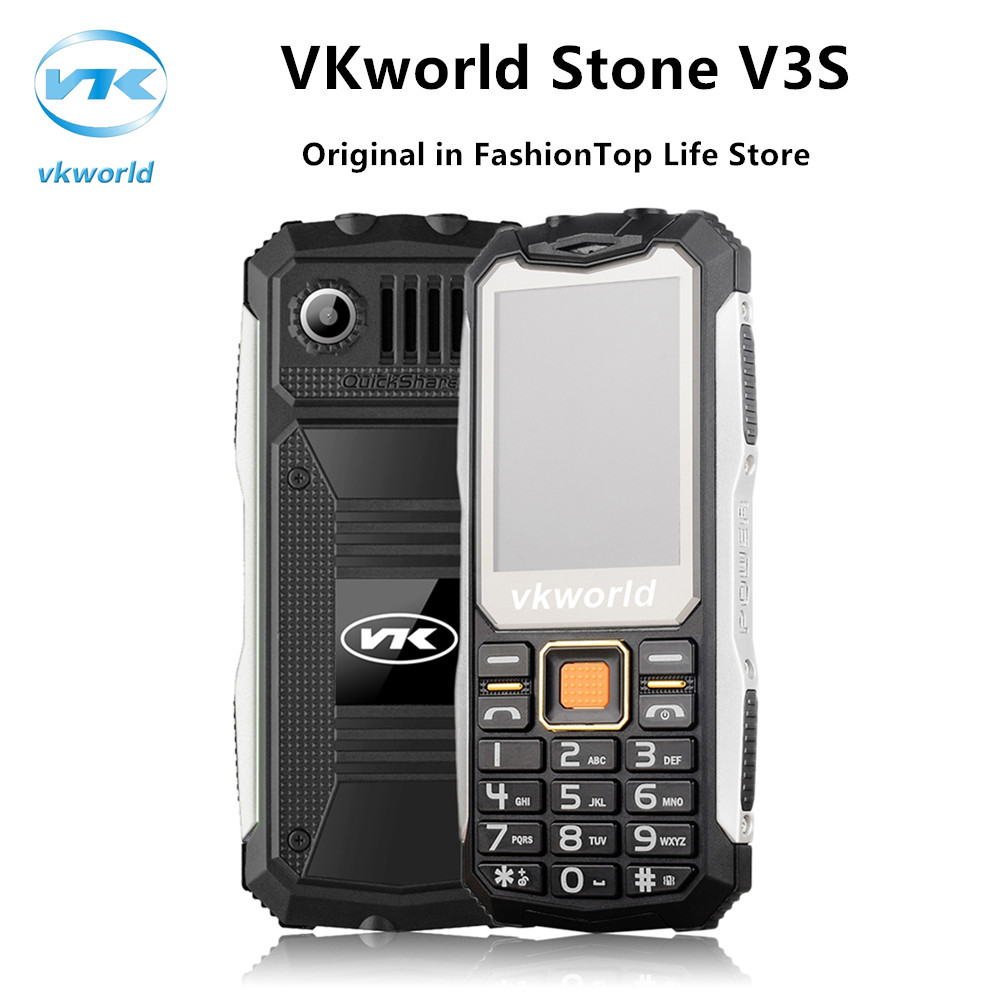 Original teléfono móvil a prueba de polvo a prueba de choques impermeable vkworl