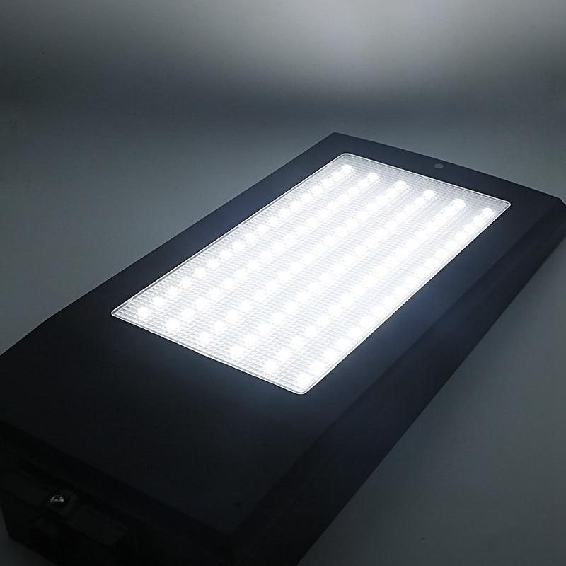 SZYOUMY 108 LEDs 2100LM Solar Powered Radar Motion Sensor Wand Licht Im Freien Wasserdichte Energie Yard Pfad Garten Straße Lampe - 5