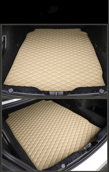 Custom Special Car Trunk Mats for MINI COOPER COUNTRYMAN CLUBMAN PEACEMAN Waterproof Durable Cargo Rugs Carpets