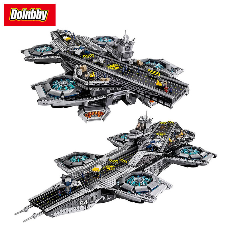 07043 Marvel The SHIELD Helicarrier Captain America Building Block Bricks Toys Kids Gifts Compatible Super Heroes 76042 captain america 12in 1pcs set pvc figures the avenger marvel captain america action anime figures kids gifts toys