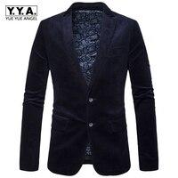 Erkekler Casual Suit İş Stil Moda Tasarım Mens Uzun Kollu Slim fit Suits Eril Blazer Tek Breasted Blazer Büyük Boy