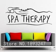 Fashion Massage Spa Beauty Salon Shop Vinyl Wall Decal Sticker Relax Window Glass Decorative Decoration