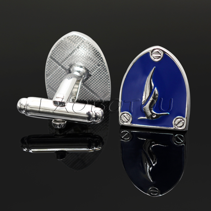 Vintage Shields Cufflinks for Mens Personalized Groomsmen Gifts